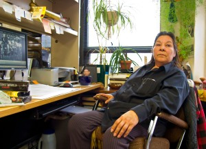 Norma Soulier has been the librarian at the Bad River tribal library for more than 20 years.